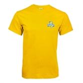 Gold T Shirt-Misericordia Official Logo
