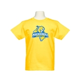 Youth Gold T Shirt-Misericordia Official Logo