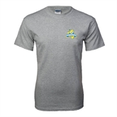 Grey T Shirt-Misericordia Official Logo