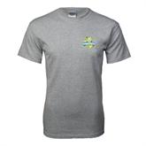 Grey T Shirt-Misericordia Official Logo