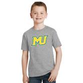 Youth Grey T-Shirt-MU