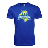 Next Level SoftStyle Royal T Shirt-Misericordia Official Logo