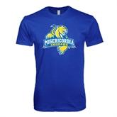 Next Level SoftStyle Royal T Shirt-Misericordia Official Logo