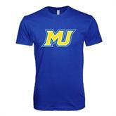 Next Level SoftStyle Royal T Shirt-MU