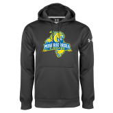 Under Armour Carbon Performance Sweats Team Hoodie-Misericordia Official Logo