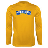 Performance Gold Longsleeve Shirt-Soccer
