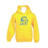 Youth Gold Fleece Hoodie-MU w/Cougar Head