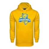 Under Armour Gold Performance Sweats Team Hoodie-Misericordia Official Logo