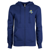 ENZA Ladies Royal Fleece Full Zip Hoodie-Misericordia Official Logo