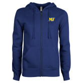 ENZA Ladies Royal Fleece Full Zip Hoodie-MU