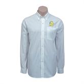 Red House White Long Sleeve Shirt-MU w/Cougar Head