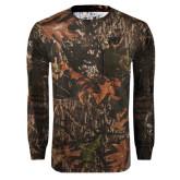 Realtree Camo Long Sleeve T Shirt w/Pocket-MU