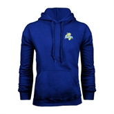 Royal Fleece Hoodie-Misericordia Official Logo