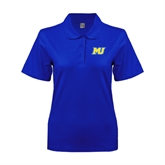 Ladies Easycare Royal Pique Polo-MU