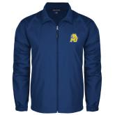 Full Zip Royal Wind Jacket-MU w/Cougar Head