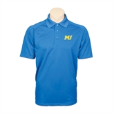 Royal Textured Saddle Shoulder Polo-MU