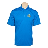 Royal Mini Stripe Polo-Misericordia Official Logo