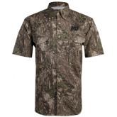 Camo Short Sleeve Performance Fishing Shirt-MU