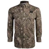 Camo Long Sleeve Performance Fishing Shirt-MU