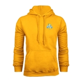 Gold Fleece Hoodie-Misericordia Official Logo