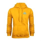 Gold Fleece Hoodie-Misericordia Official Logo