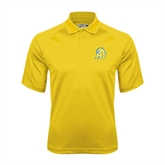 Gold Dri Mesh Pro Polo-MU w/Cougar Head
