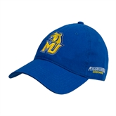 Royal Twill Unstructured Low Profile Hat-MU w/Cougar Head