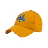 Gold Heavyweight Twill Pro Style Hat-Misericordia Official Logo