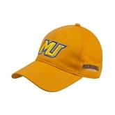 Gold Heavyweight Twill Pro Style Hat-MU
