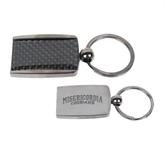 Corbetta Key Holder-Arched Misericordia Cougars Wordmark Engraved