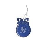 Royal Bulb Ornament-MU w/Cougar Head Engraved