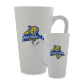 Full Color Latte Mug 17oz-Misericordia Official Logo