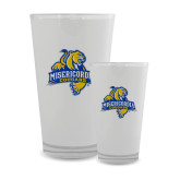 Full Color Glass 17oz-Misericordia Official Logo