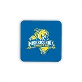 Hardboard Coaster w/Cork Backing-Misericordia Official Logo