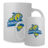 Dad Full Color White Mug 15oz-Misericordia Official Logo