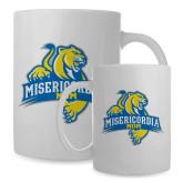 Mom Full Color White Mug 15oz-Misericordia Official Logo