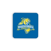 Hardboard Coaster w/Cork Backing 4/set-Misericordia Official Logo