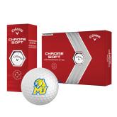 Callaway Chrome Soft Golf Balls 12/pkg-MU w/Cougar Head