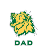 Dad Decal-Lion Head