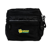 All Sport Black Cooler-MSSU Lions w/Lion Head