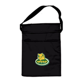Black Lunch Sack-MSSU Lions w/Lion Head On Top