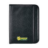 Insight Black Calculator Padfolio-MSSU Lions w/Lion Head