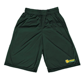 Performance Classic Dark Green 9 Inch Short-MSSU Lions w/Lion Head