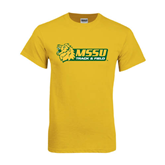 Gold T Shirt-Track & Field
