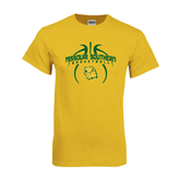 Gold T Shirt-Design in Basketball