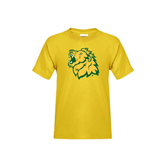 Youth Gold T Shirt-Lion Head