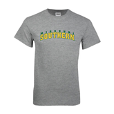 Grey T Shirt-Arched Missouri Southern