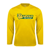 Syntrel Performance Gold Longsleeve Shirt-Pep Band