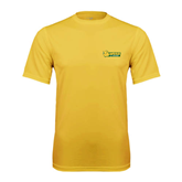 Syntrel Performance Gold Tee-MSSU Lions w/Lion Head
