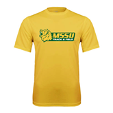 Performance Gold Tee-Track & Field